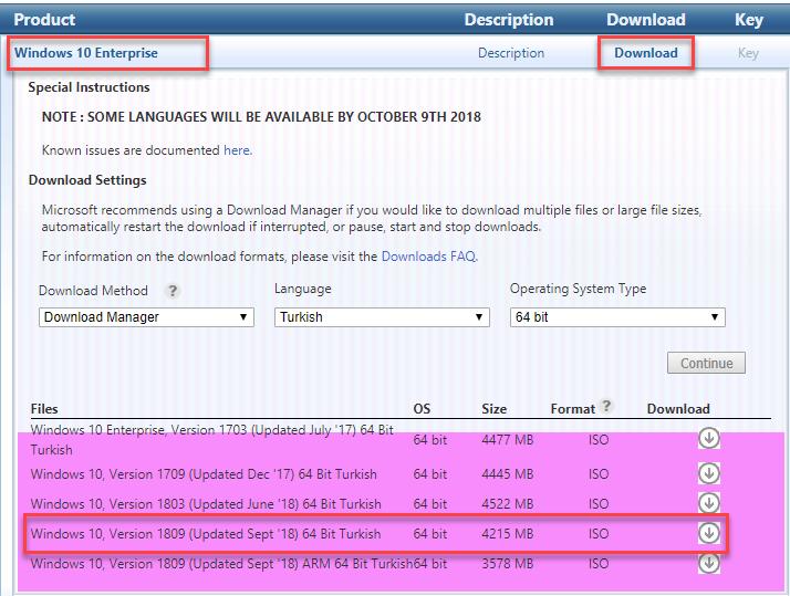 Windows 10 Version 1809 Msdn Windows 10 version 1809 rollout